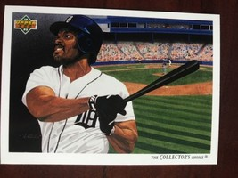 1992 Upper Deck - Cecil Fielder - Checklist #96 - $0.99