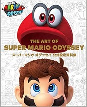 The Art of Super Mario Odyssey Official Art Book