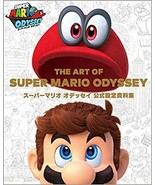 The Art of Super Mario Odyssey Official Art Book - $60.00