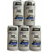 (5) Right Guard Xtreme Max Power Solid Antiperspirant 96hr 2.6 oz EACH - $99.00