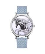 Womens Watch Leather Belt Analog Quartz Wrist Watches Horse Pattern #SKY... - $16.99