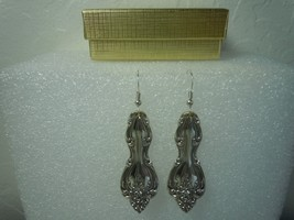 International Interlude Earrings Silverplate - $31.18