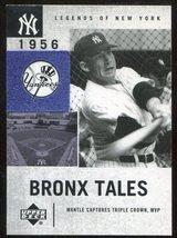 2001 Upper Deck Legends of New York #131 Mickey Mantle - $3.00