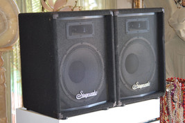 """2-Stageworks 12"""" 2-Way Passive Speakers Matched PAIR - $315.00"""