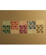 USPS Scott 889-93 1940 American Inventors Lot Of 5 Plate Block 20 Stamps... - $101.06
