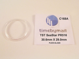Watch Plexi-Glass Crystal For TISSOT Seastar PR516 Replacement 30.6 X 29... - $18.92