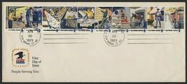 #1498a 8c Postal Service Employees, USPS #12 [2] FDC **ANY 4=FREE SHIPPI... - $4.50