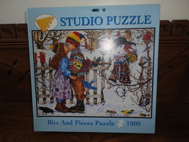 Artist Wendy Edelson THE KISS Studio Puzzle 1000 pc Bits and Pieces 20 x 27 - $69.45