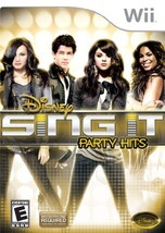 Disney Sing It: Party Hits - Nintendo Wii [video game] - $7.79