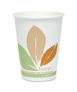 Solo Cup Eco-Forward PLA Paper Hot Cups, 12-oz, Leaf, 50 Cups (SCC412PLN... - $16.83