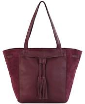 The Sak Huntley Tassel Handbag Tote (Cabernet, One Size) - $98.90