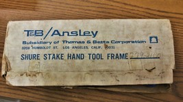 T&B/Ansley 779-2100 Blue Macs Hand Tool W/ 779-2164 /779-2158 Ribbon Con... - $89.00