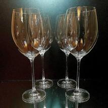 "4 (Four) LENOX TUSCANY CLASSICS GRAND BORDEAUX Wine Goblets 27 oz 10.5"" ... - $47.49"