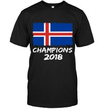 Iceland Champions 2018 Football Jersey Soccer Shirt Iceland - $17.99+