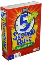 5 Second Rule - Just Spit it Out! Board Game PlayMonster, LLC 7428 - $15.81