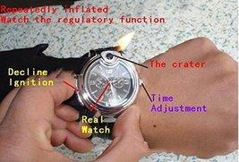 Novelty Collectible Watch Cigarette Butane Lighter - One Lighter