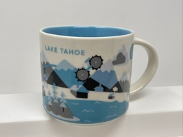 Starbucks Lake Tahoe You Are Here YAH Collection Coffee Mug Tea Cup 14oz... - $32.66