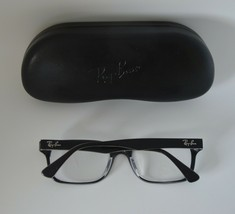 Used Ray Ban Eyeglass Frames Model Rb 5286 2034 Size 51-18-135 + Ray Ban Case - $65.00