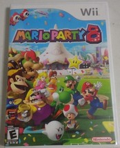Mario Party 8 (Nintendo Wii, 2007) Game + Case + Booklet - SHIPS FREE! - $24.18