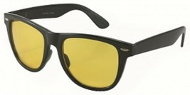 SEE AT NIGHT DRIVING GLASSES YELLOW LENS URBAN LOOK NIGHT DRIVING IN THE... - $9.90