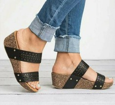 Dual Strap Wedge shoes image 1