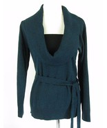 AGB Size XL  Marled Knit Belted Cowl Sweater - $11.99