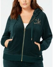 Calvin Klein Plus Size Studded Velour Jacket 3X # K 68 - $8.90