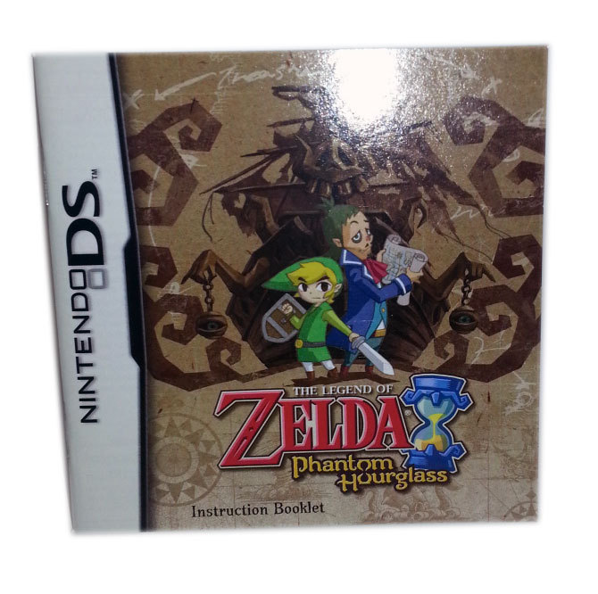 Legend of Zelda: Phantom Hourglass Nintendo DS Replacement Booklet * NOT GAME