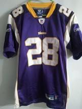 Reebok On Field NFL Adrian Peterson Jersey Size 48 Sewn Stitched Vikings  - $27.71