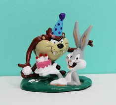 1995 Warner Brothers Applause Birthday Cake Topper Bugs Bunny & Tasmania... - $9.89