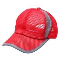 Summer Mesh Baseball Hat Men Women Solid Colors Sport Golf Baseball Cap ... - £7.37 GBP