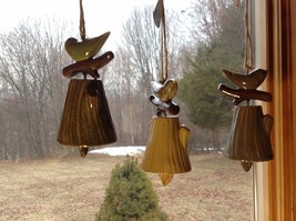 Department 56 Ceramic Bird wind chime bell Forest Lane Choice Color for garden