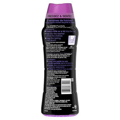 Downy Unstopable in-Wash Scent Booster Beads, Lush, 20.1 Ounce