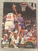 1992-93 Topps Stadium Club NBA Dennis Rodman #314 Pistons Card A6264 - $1.94