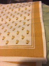 """4 French Country Design Cotton Napkins 20"""" X 20... - $15.83"""