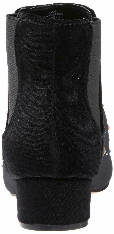 Betsey Johnson JAX Bootie Black Velvet, Size 5 image 4