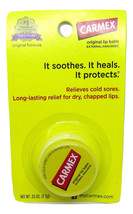 Carmex Original Soothing Moisturizing Lip Balm Pot (3-pack) - $16.74
