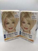 2 Pack Clairol Nice 'N Easy Maxi Born Blonde- Maximum Blonding SEALED - $59.84