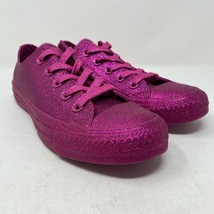 Converse Womens Pink Glitter Chuck Taylor All Star Sneaker Athletic Size US 6 - $44.50