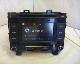 15 2015 Hyundai Sonata Radio Cd MP3 Player 96180-C20004X C57571 - $42.97