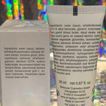 Dr. Barbara Sturm SEALED Anti Pollution Drops 10mL & Face Cream 20mL NEW UNUSED image 3