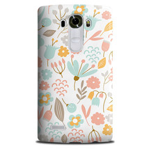 Cute Pastel Shabby Chic Floral LG G4 Stylus Hard Case Cover - $301,01 MXN