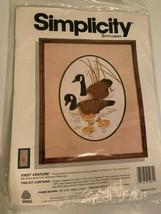 Nuovo Simplicity Stitchery Primo Venture 05062 Americano Auguri Design Oche - $10.83