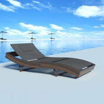 Sunbathing Pool Chair Tanning Chaise Lounge Adjustable Outdoor Furniture... - $210.96