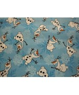 """Disney's """"Frozen"""" Olaf and Snowflakes-BTY-By Springs Industries - $9.95"""