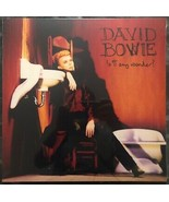 "David Bowie Is It Any Wonder 12"" Vinyl EP Limited To 6000  - $65.00"