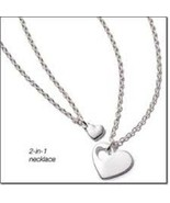 Avon two hearts became one necklace - $12.99