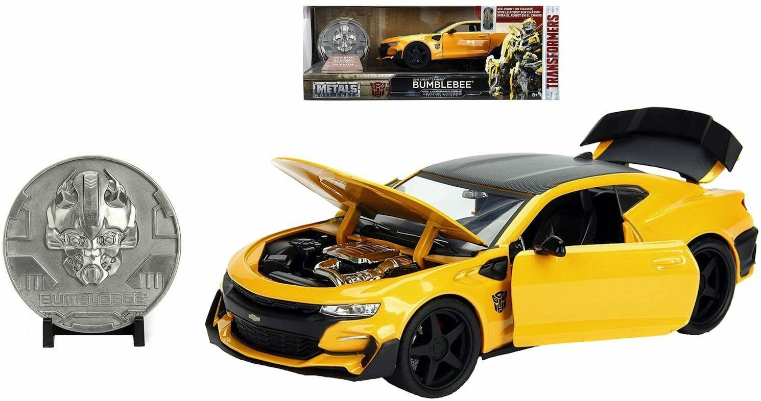 Jada - 98404 - Transformers Bumblebee with COIN - Scale 1:24 - Yellow - $49.45