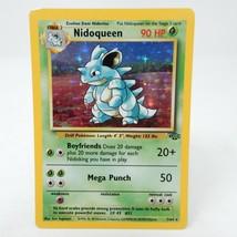 Nidoqueen 7/64 - Jungle Set Holo - Pokemon Card Light Play - $29.65