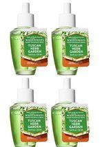 Bath & Body Works Tuscan Herb Garden Wallflower Home Fragrance Refill Bulb x4 - $25.99